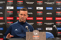 HARRISON, NJ - MARCH 11: Head coach Domenec Torrent of NYCFC during a game between Tigres UANL and NYCFC at Red Bull Arena on March 11, 2020 in Harrison, New Jersey.