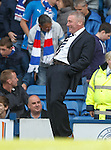 Ally McCoist joking with hat-trick man Lee McCulloch