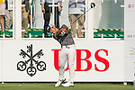 Thanyakon Khrongpha of Thailand tees off the first hole during the 58th UBS Hong Kong Golf Open as part of the European Tour on 08 December 2016, at the Hong Kong Golf Club, Fanling, Hong Kong, China. Photo by Marcio Rodrigo Machado / Power Sport Images