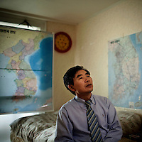 Previously an agricultural scientist in North Korea, today Lee Min-bok is the driving forced behind balloon launches across from South Korea which carry radios, medication, pamphlets and USB drives to North Koreans. Lee has perfected a helium balloon design which carries up to 8 kg and automatically punctures once carried across the border by wind. He estimates that he and partner associations launch over 1500 balloons per year.