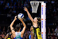 Kelly Jury of the Pulse during the ANZ Premiership Netball - Te Wānanga o Raukawa Pulse v Northern Mystics at TSB Bank Arena, Wellington, New Zealand on Monday 10 May 2021.<br /> Photo by Masanori Udagawa. <br /> www.photowellington.photoshelter.com
