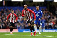 2nd October 2021; Stamford Bridge, Chelsea, London, England; Premier League football Chelsea versus Southampton; Nathan Redmond of Southampton