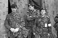 - Esercitazioni NATO in Germania, Settembre 1984, militari inglesi<br /> <br /> - NATO exercises in Germany, September 1984, British soldiers