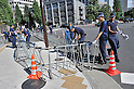 Demonstration against Abe's Security Policies in Tokyo