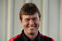 Sept. 30, 2012; Madison, IL, USA: NHRA top fuel dragster driver David Grubnic during the Midwest Nationals at Gateway Motorsports Park. Mandatory Credit: Mark J. Rebilas-