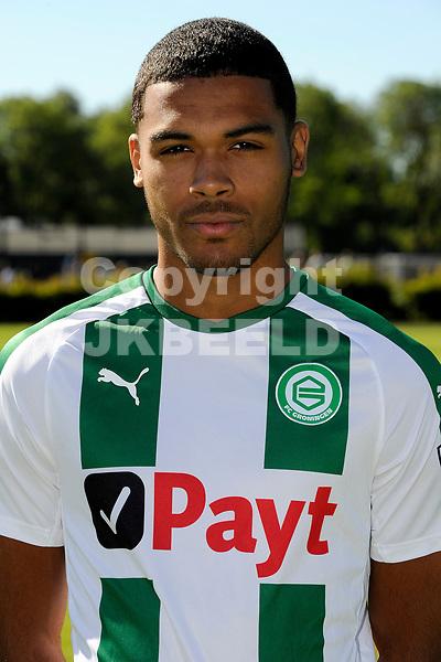 GRONINGEN - Presentatie FC Groningen o23, seizoen 2018-2019,   30-06-2018,  Kellian van der Kaap