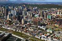 aerial photograph of Montreal, Quebec, Canada | photographie aérienne de Montréal, Québec, Canada