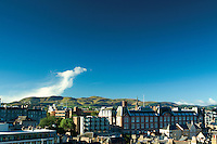 The Pentland Hills from Edinburgh Castle, Edinburgh