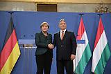 Merkel in Budapest