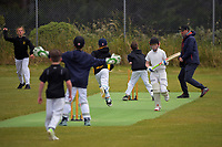 Action from the Wellington junior cricket year 7 match between Karori Tuis and Wellington Collegians Tornadoes at Ian Galloway Park in Wellington, New Zealand on Saturday, 5 December 2020. Photo: Charley Lintott / lintottphoto.co.nz