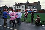 Goathland Plough Stots, Goathland Yorkshire UK Sword dance Play 1980s.