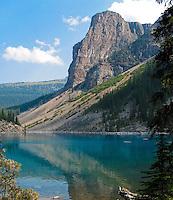 Moraine Lake near Lake Louise in Banff National Park