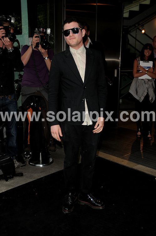 **ALL ROUND PICTURES FROM SOLARPIX.COM**.**WORLDWIDE SYNDICATION RIGHTS**.Celebrities arrive for a party at Sadlers Wells theatre. Sadlers Wells Theatre, London, UK. 16 June 2009.This pic: Matt Smith..JOB REF: 9255 MSR    DATE: 16_06_2009.**MUST CREDIT SOLARPIX.COM OR DOUBLE FEE WILL BE CHARGED**.**ONLINE USAGE FEE GBP 50.00 PER PICTURE - NOTIFICATION OF USAGE TO PHOTO @ SOLARPIX.COM**.**CALL SOLARPIX : +34 952 811 768 or LOW RATE FROM UK 0844 617 7637**