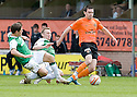 09/05/2010   Copyright  Pic : James Stewart.sct_js031_dundee_utd_v_hibernian  .::  JOHN RANKIN AND DEREK RIORDAN STOP RYAN DOW ::  .James Stewart Photography 19 Carronlea Drive, Falkirk. FK2 8DN      Vat Reg No. 607 6932 25.Telephone      : +44 (0)1324 570291 .Mobile              : +44 (0)7721 416997.E-mail  :  jim@jspa.co.uk.If you require further information then contact Jim Stewart on any of the numbers above.........