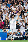 Marco Asensio Willemsen of Real Madrid celebrates during their Supercopa de Espana Final 2nd Leg match between Real Madrid and FC Barcelona at the Estadio Santiago Bernabeu on 16 August 2017 in Madrid, Spain. Photo by Diego Gonzalez Souto / Power Sport Images