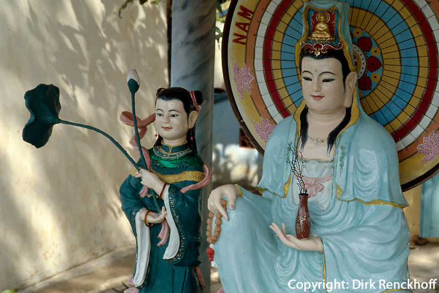 Buddha-Statue in Bien Hoa, Vietnam