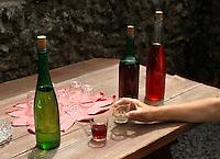 Spanien, Kanarische Inseln, La Palma, Pueblo-Park in Los Llanos de Aridane,  Weinprobe