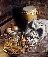 """Europe/France/Midi-Pyrénées/31/Haute-Garonne/Toulouse: Cassoulet de Toulouse - Recette de G. Zasso chef du restaurant """"Le Colombier"""""""