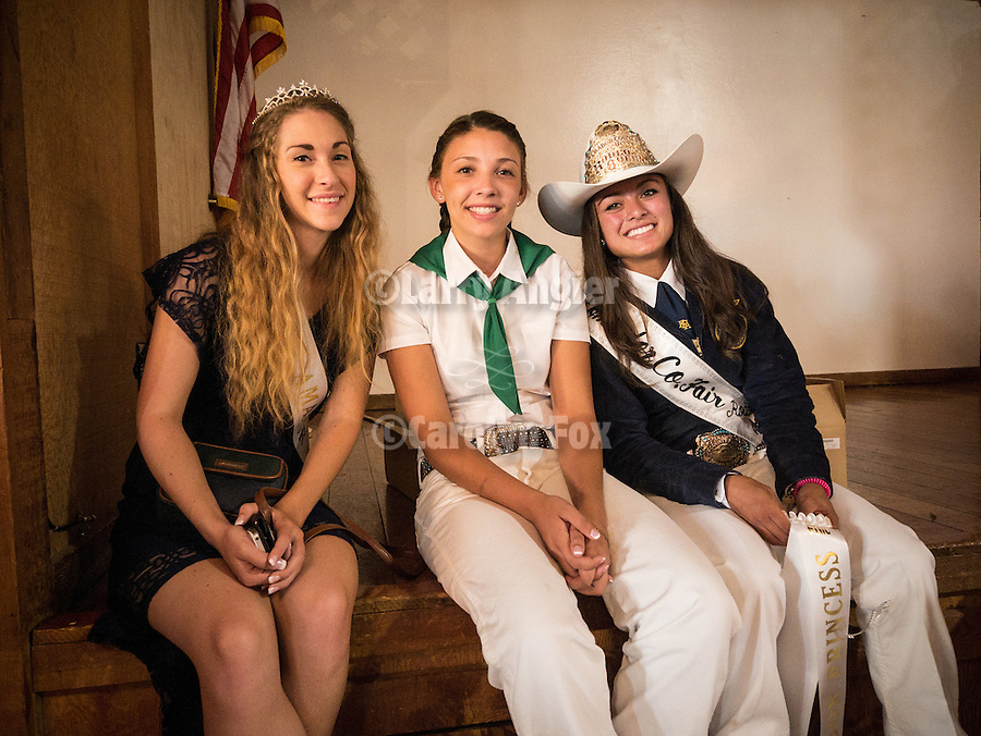 4th day of the 76th Amador County Fair, Plymouth, Calif.<br /> <br /> Jr. Livestock Auction breakfast and youth group wheel-and-deal with the buyers