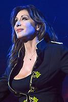 Sabrina lors de la tournÈe 'Stars 80, 10 ans dÈj‡ !' au Palais Nikaia ‡ Nice, le samedi 18 mars 2017. # TOURNEE 'STARS 80 - 10 ANS DEJA !' A NICE