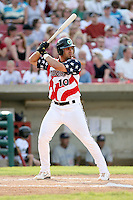 July 3, 2007:  Michael Affronti of the Kane County Cougars at Elfstrom Stadium in Geneva, IL  Photo by:  Chris Proctor/Four Seam Images
