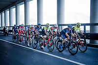 the breakaway group <br /> <br /> 110th Milano-Sanremo 2019 (ITA)<br /> One day race from Milano to Sanremo (291km)<br /> <br /> ©kramon