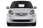 Car photography straight front view of a 2015 Smart FORTWO PRIME 3 Door Micro Car Front View