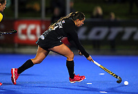 Tyler Lench in action during the Sentinel Homes Trans Tasman Series hockey match between the New Zealand Black Sticks Women and the Australian Hockeyroos at Massey University Hockey Turf in Palmerston North, New Zealand on Friday, 28 May 2021 Photo: Simon Watts / bwmedia.co.nz