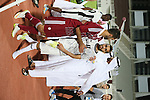 Al Wahda vs Al Sadd during the 2015 AFC Champions League Play off match on February 17, 2015 at the Al Nahyan Stadium in Abu Dhabi, UAE. Photo by Adnan Hajj / World Sport Group