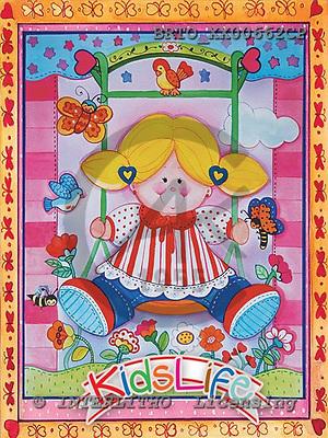 Alfredo, CHILDREN, paintings,+girls,++++,BRTOXX00662CP,#K# Kinder, niños, illustrations, pinturas ,everyday