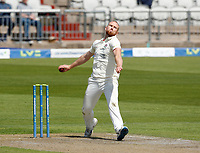 27th May 2021; Emirates Old Trafford, Manchester, Lancashire, England; County Championship Cricket, Lancashire versus Yorkshire, Day 1; Danny Lamb of Lancashire bowls during the morning session