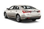 Car pictures of rear three quarter view of 2018 Toyota Avalon XLE Premium 4 Door Sedan Angular Rear