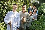 Dion, Cory, Stephanie, Yvonne, Alan Verstandig & Ruben Rassi Gorilla Trecking