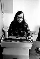 Singer Raoul Duguay in March 1973 (exact date unknown)<br /> <br /> Photo : Agence Quebec Presse  -  Alain Renaud