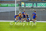 Cian Tobin Spa sends the Beaufort keeper  Sean Coffey the wrong way as he scored his goal during the Intermediate Club Championship final in Fitzgerald Stadium on Sunday