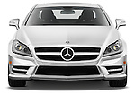 Straight front view of a 2012 Mercedes CLS Class