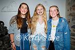 Best friends, Kate Fitzsimmons (Tralee, 14), Alexandra O'Sullivan (Ardert, 14) and Leah Buckley (Abbeydorney, 14) all celebrating their birthdays in Bella Bia on Saturday.