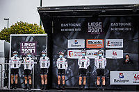 Team Sunweb pre race team presentation<br /> <br /> 4th Liège-Bastogne-Liège-Femmes 2020 (1.WWT)<br /> 1 Day Race: Bastogne – Liège 135km<br /> <br /> ©kramon