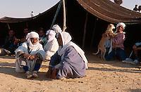 Beduinenzelt, Festival in Douz, Tunesien