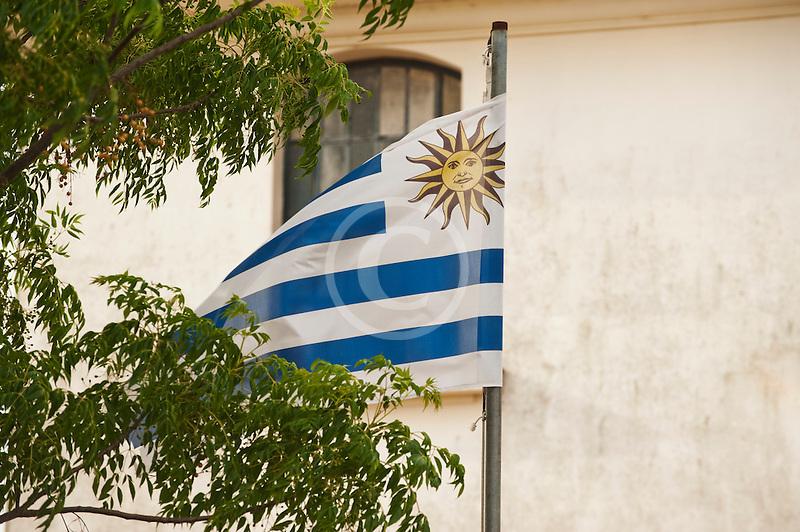 Uruguay, Colonia del Sacramento, Flag of Uruguay