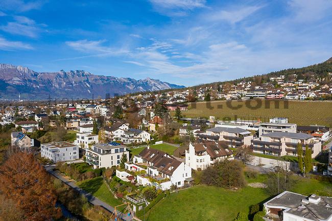 Drohnenaufnahme: Liechtenstein.<br /> Vaduz<br /> Foto: ©Paul J. Trummer