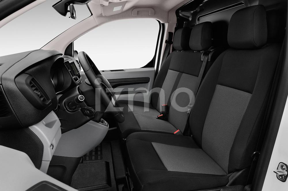 Front seat view of 2017 Citroen Jumpy Business 5 Door Cargo Van Front Seat  car photos