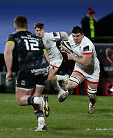 2nd January 2021 | Ulster vs Munster <br /> <br /> Nick Timoney during the PRO14 Round 10 clash between Ulster Rugby and Munster Rugby at the Kingspan Stadium, Ravenhill Park, Belfast, Northern Ireland. Photo by John Dickson/Dicksondigital