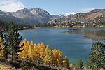 June Lake in autumn June Lake,