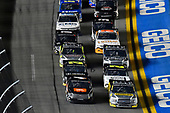 #4: Raphael Lessard, Kyle Busch Motorsports, Toyota Tundra JBL and #98: Grant Enfinger, ThorSport Racing, Ford F-150 Champion/ Curb Records