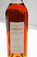 Gelas Bas Armagnac 18 ans d'Age eighteen years old made from grape variety Ugni Blanc