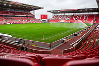 21st November 2020; Bet365 Stadium, Stoke, Staffordshire, England; English Football League Championship Football, Stoke City versus Huddersfield Town; Empty seats at the Bet365 Stadium due to the pandemic