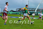 David Clifford, Kerry in action against Seán Ó Maoilchiaráin, Galway during the Allianz Football League Division 1 South Round 1 match between Kerry and Galway at Austin Stack Park in Tralee.