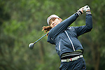Min Sun Kim of South Korea tees off the 14th hole during Round 2 of the World Ladies Championship 2016 on 11 March 2016 at Mission Hills Olazabal Golf Course in Dongguan, China. Photo by Victor Fraile / Power Sport Images