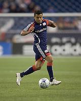 New England Revolution midfielder Mauricio Castro (16). The Columbus Crew defeated the New England Revolution, 1-0, at Gillette Stadium on October 10, 2009.